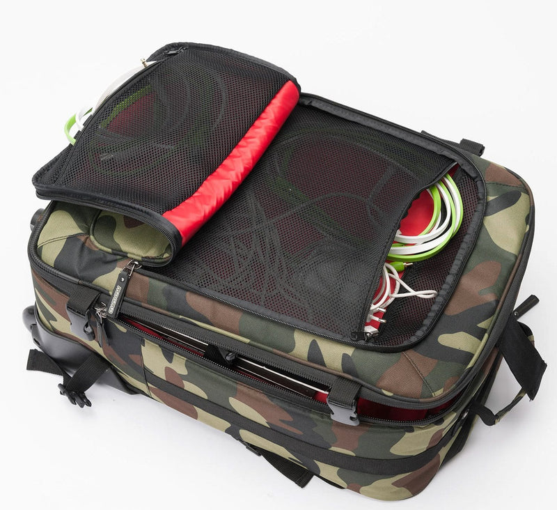 Magma MGA47886 DIGI Carry-On Trolley Camo - Green/Red - PSSL ProSound and Stage Lighting