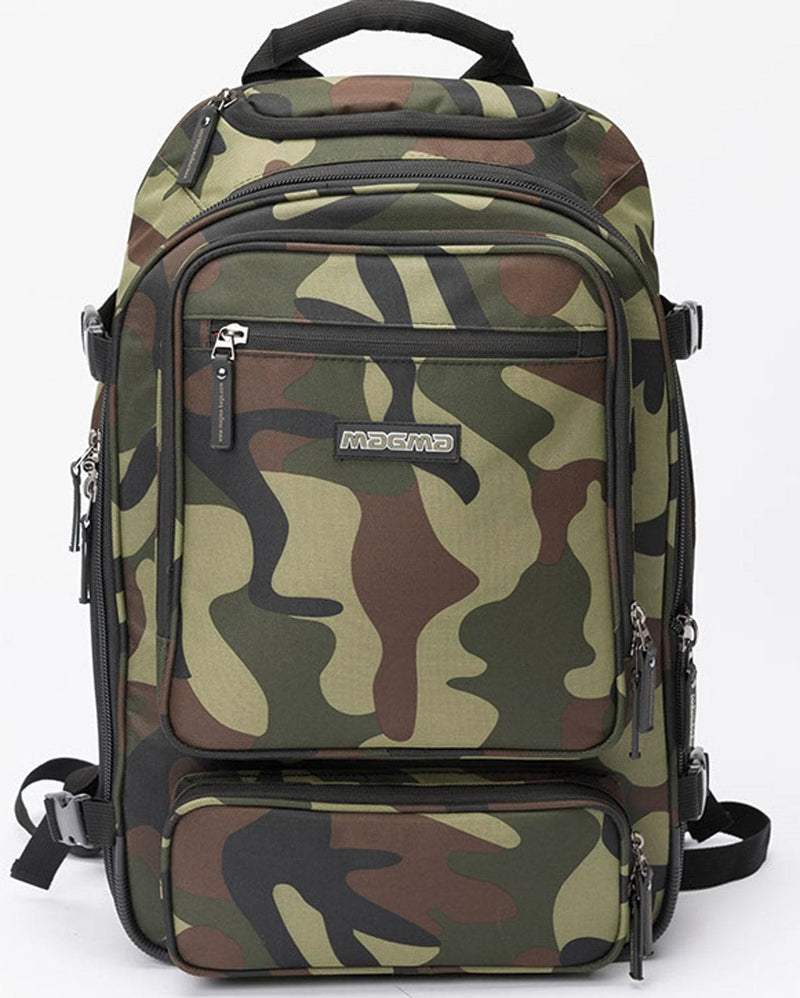 Magma MGA47887 DIGI DJ Backpack Camo - Green/Red - PSSL ProSound and Stage Lighting