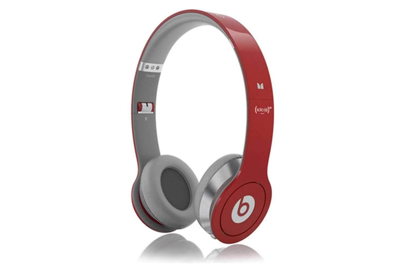 Monster Beats Solo By Dr Dre Ltd Ed Headphones-Red - PSSL ProSound and Stage Lighting
