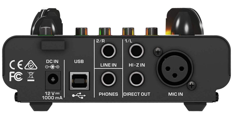 Behringer MIC500USB Tube Pre & USB Audio Interface - PSSL ProSound and Stage Lighting