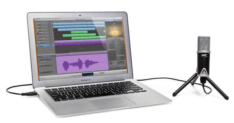 Apogee MIC 96K USB Audio Interface for iOS & Mac - PSSL ProSound and Stage Lighting