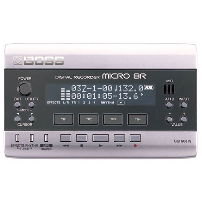 Roland MICRO-BR 4-TRack Digital Recorder - PSSL ProSound and Stage Lighting