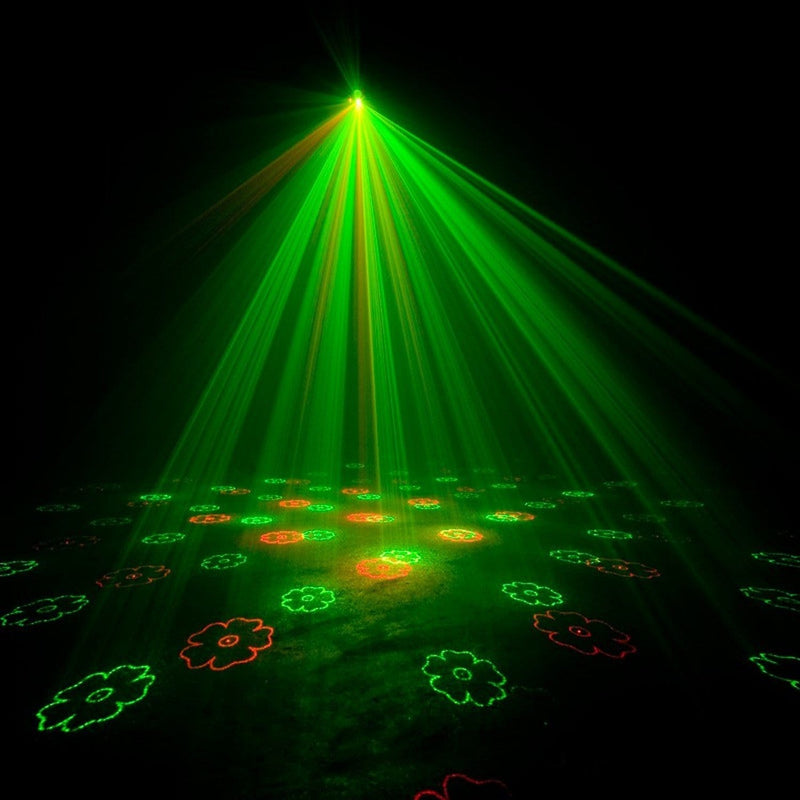 ADJ American DJ Micro Gobo II Red & Green Laser Fixture - PSSL ProSound and Stage Lighting
