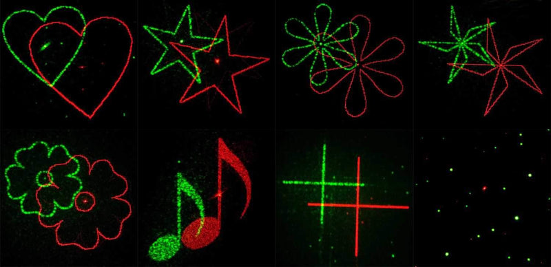 American DJ Micro Gobo Red & Green Laser with Remote - PSSL ProSound and Stage Lighting