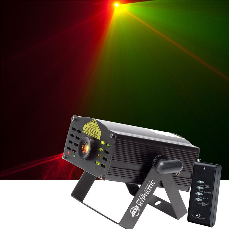 American DJ Micro Hypnotic Red Green Laser Effect - PSSL ProSound and Stage Lighting