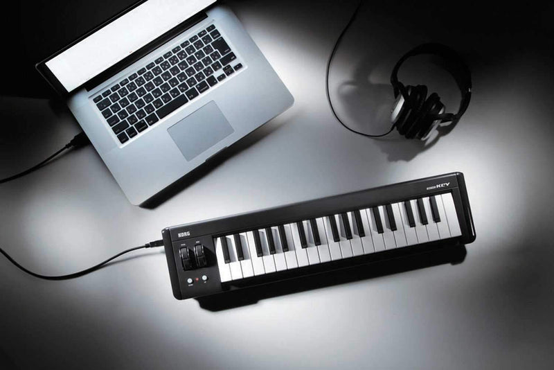 Korg MICROKEY 37 USB MIDI Keyboard Controller - PSSL ProSound and Stage Lighting