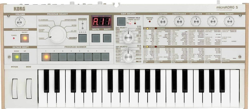 Korg microKORG-S Synthesizer & Vocoder with Speaker - PSSL ProSound and Stage Lighting