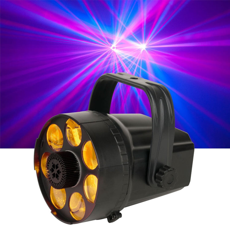 American DJ Micro Phase RGB Moonflower LED Light - PSSL ProSound and Stage Lighting