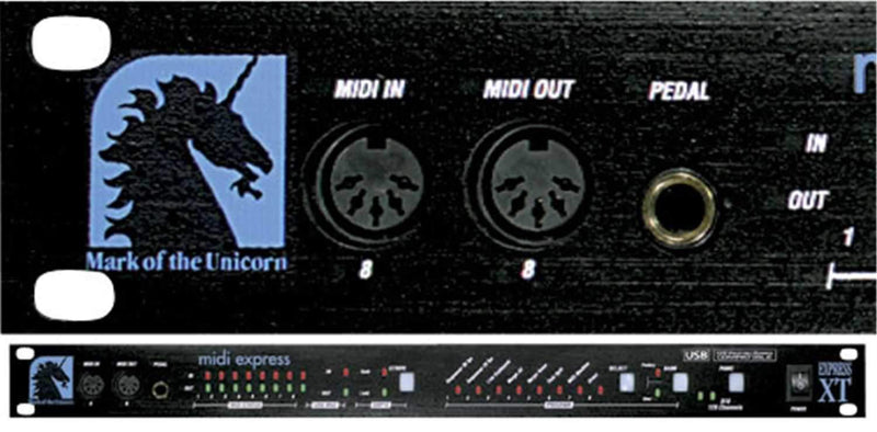 MOTU MIDI Express Xt Midi/Smpte Interface - PSSL ProSound and Stage Lighting