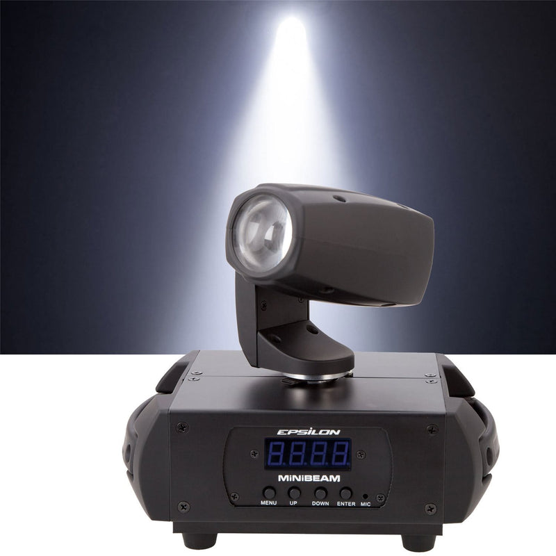 Epsilon Mini Beam Ultra Compact LED Moving Head Light - PSSL ProSound and Stage Lighting