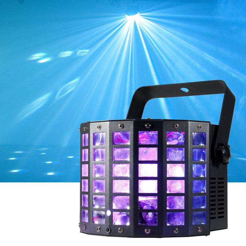 ADJ American DJ Mini Dekker LZR LED Moonflower FX & Laser Light - PSSL ProSound and Stage Lighting