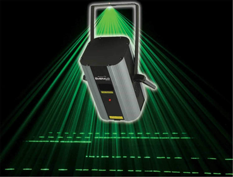 American DJ MINI-EMERALD-BEAM 4.95 MW Green Laser - PSSL ProSound and Stage Lighting