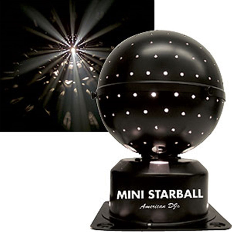 American DJ MINI STARBALL Effects Light (Ll-200) - PSSL ProSound and Stage Lighting
