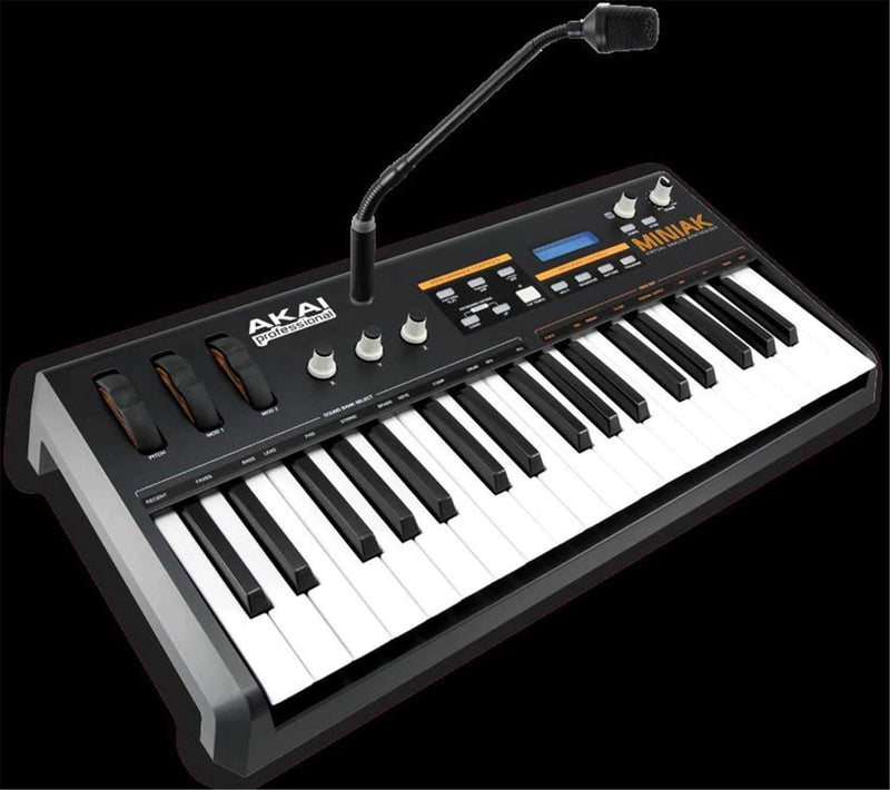 Akai MINIAK Vitual Analog Synth with Vocoder - PSSL ProSound and Stage Lighting