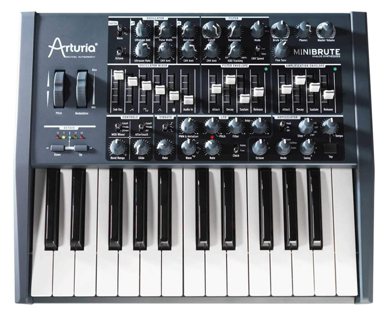 Arturia Minibrute 25-Key Analog Synthesizer - PSSL ProSound and Stage Lighting