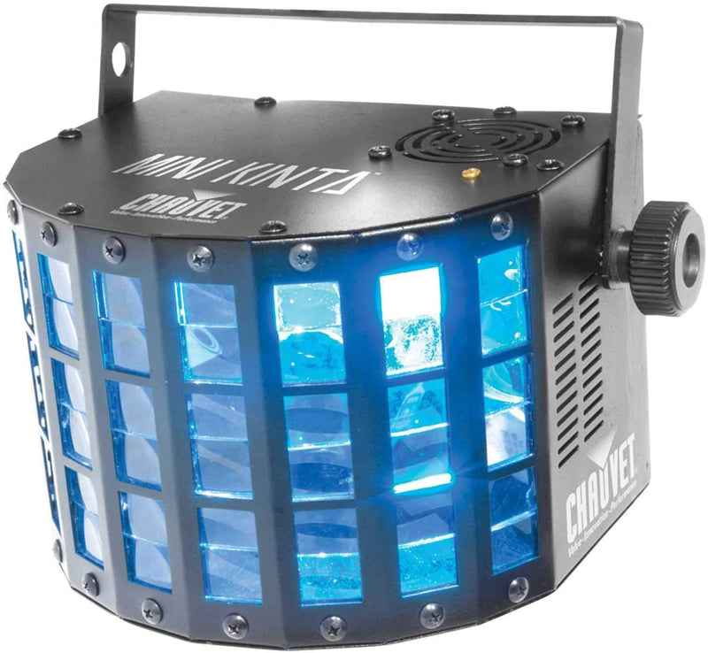 Chauvet Mini Kinta DMX 3W LED Derby Effect Light - PSSL ProSound and Stage Lighting