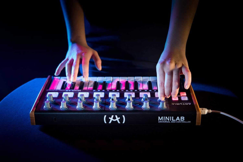 Arturia Minilab Keyboard Controller Black Edition - PSSL ProSound and Stage Lighting