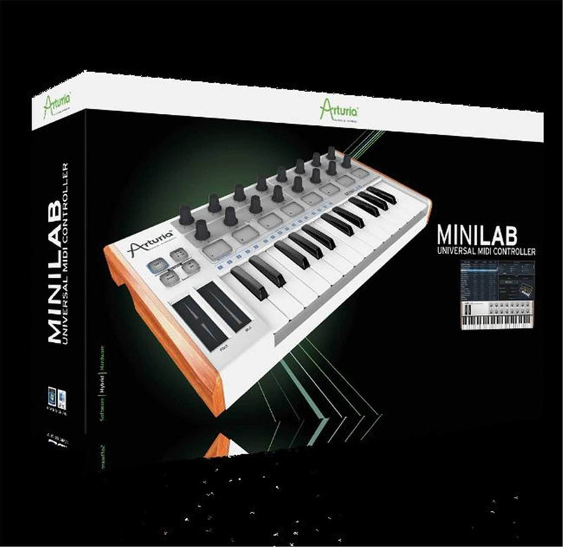 Arturia Minilab 25 Key USB Keyboard Controller - PSSL ProSound and Stage Lighting