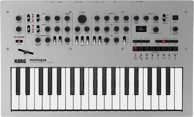 Korg Minilogue 4-Voice Polyphonic Analog Synth - PSSL ProSound and Stage Lighting