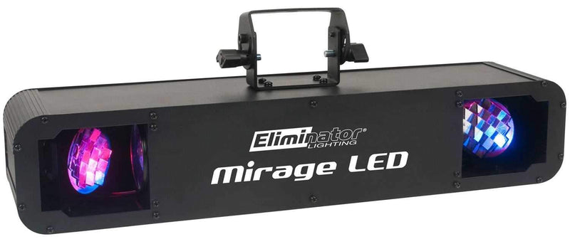 Eliminator Mirage LED RGBW Dual Moonflower LED Effect Light - PSSL ProSound and Stage Lighting