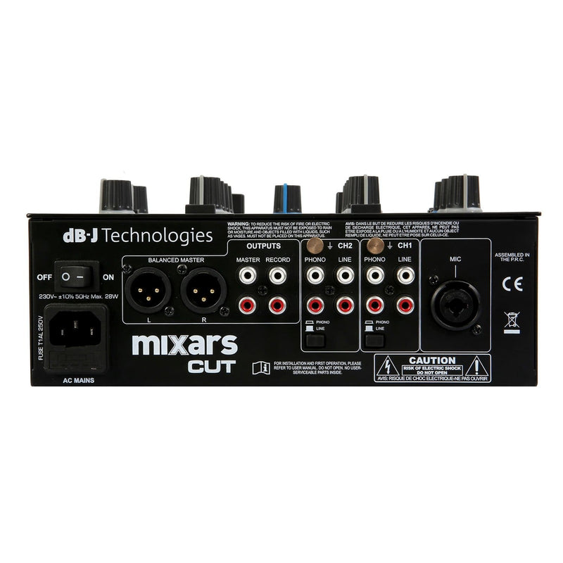 Mixars CUT MKII 2-Channel Mixer with Galileo Crossfader - PSSL ProSound and Stage Lighting