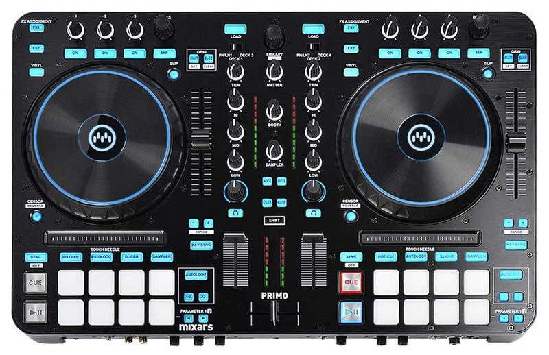 Mixars Primo 2-Channel Serato DJ Controller - PSSL ProSound and Stage Lighting
