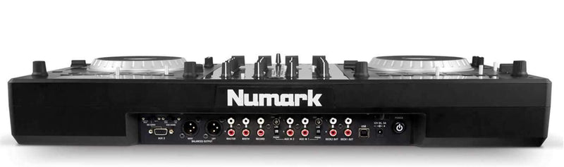 Numark Mixdeck Quad 4 Ch Complete DJ System - PSSL ProSound and Stage Lighting