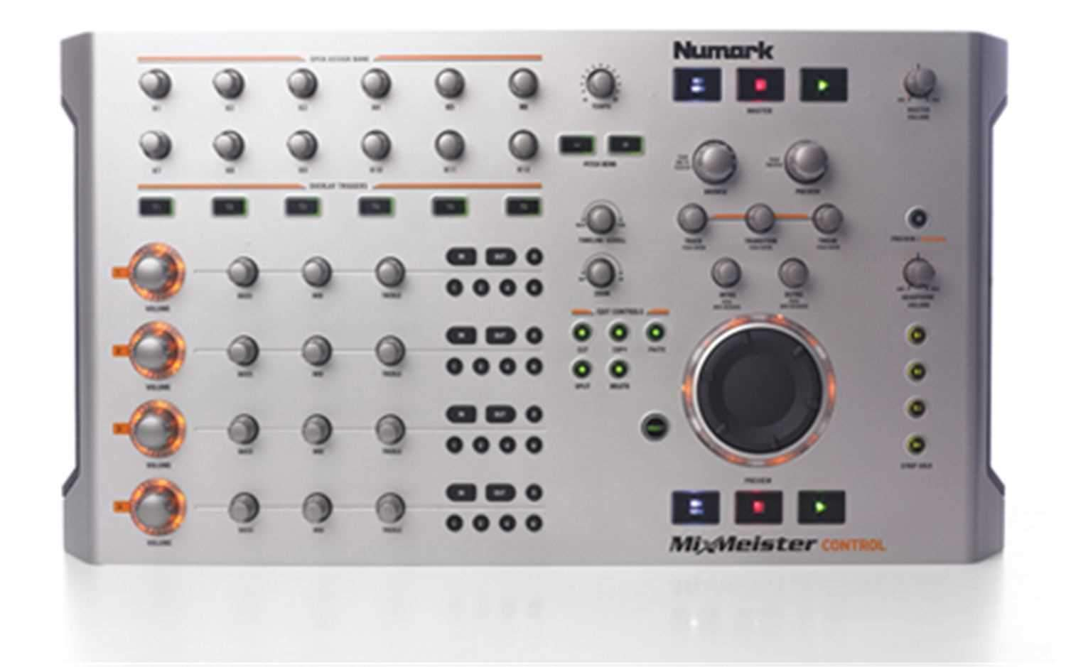 Numark Mixmeister Control With Fusion Software Prosound And Stage Lighting