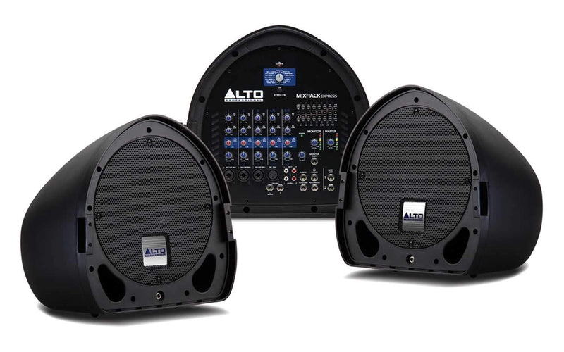 Alto MIXPACK Express Portable Powered PA System - PSSL ProSound and Stage Lighting
