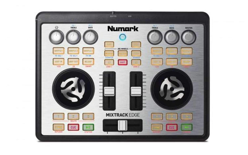 Numark Mixtrack Edge 2-Ch Slim USB DJ Controller - PSSL ProSound and Stage Lighting