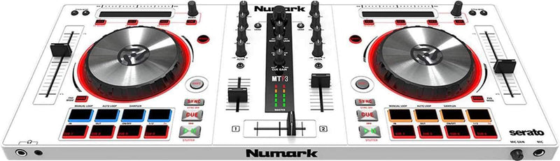 Numark Mixtrack Pro 3 White Serato DJ Controller - PSSL ProSound and Stage Lighting