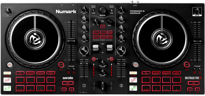 Numark Mixtrack Pro FX 2-Deck Controller - PSSL ProSound and Stage Lighting