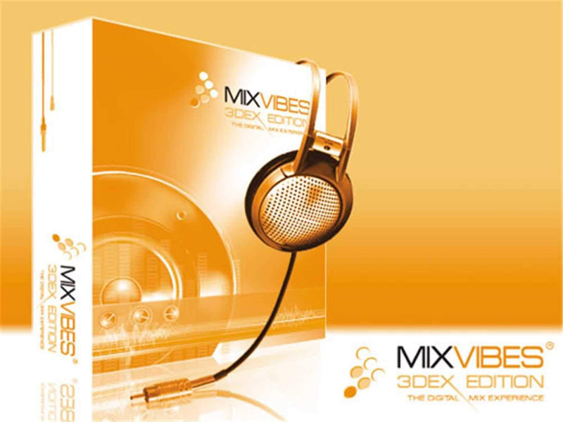 Mixvibes 3DEX Professional DJ Software - PSSL ProSound and Stage Lighting