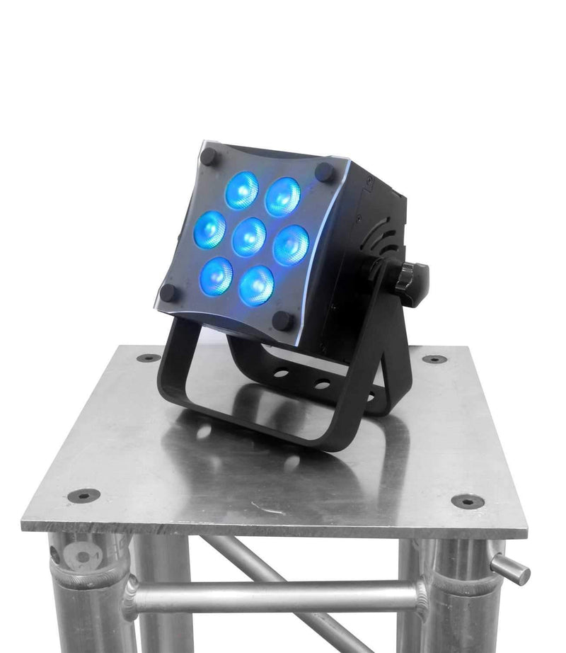 Mega Lite Baby Color Q70 7x10-Watt RGBW LED Light - PSSL ProSound and Stage Lighting