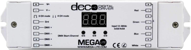 Mega Lite Deco Digital Driver - PSSL ProSound and Stage Lighting