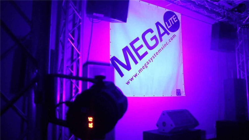 Mega Lite Unicolor CM5 UV 18x 3W LED Wash - PSSL ProSound and Stage Lighting