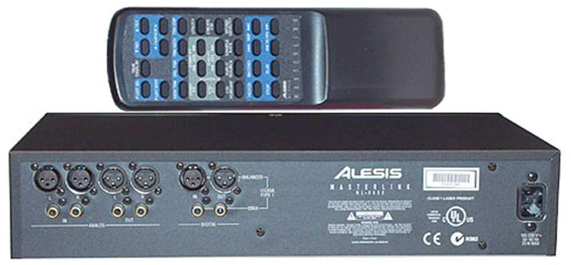 Alesis Ml9600 CD Recorder with Hard Drive - PSSL ProSound and Stage Lighting