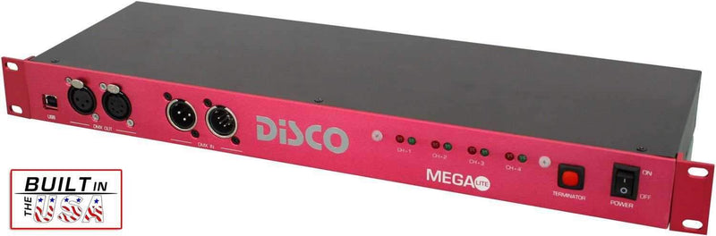 Mega Lite Disco Splitter with USB - PSSL ProSound and Stage Lighting