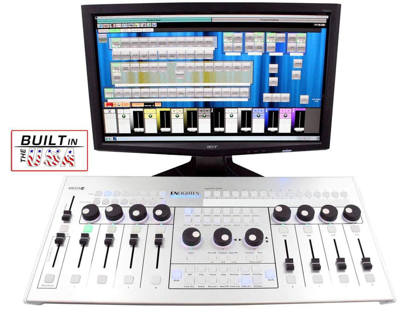 Mega Lite Enlighten One Console Software Control - PSSL ProSound and Stage Lighting