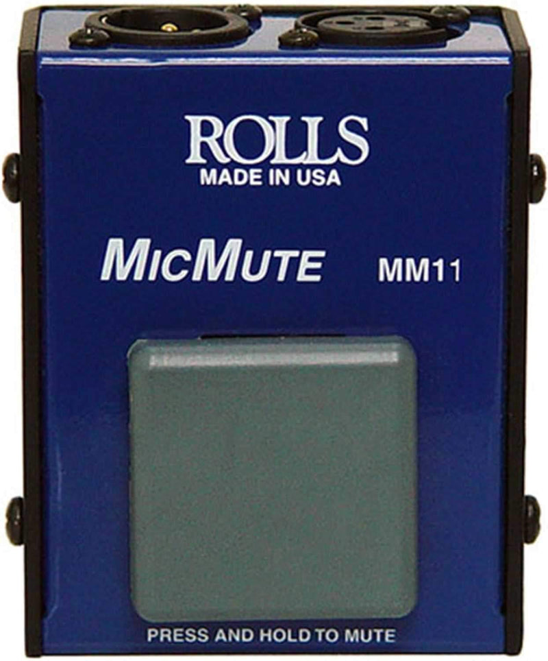 Rolls MM11 Professional Mic Muting Switch - PSSL ProSound and Stage Lighting