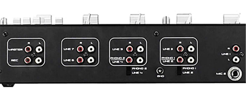 Gemini MM01 4-Channel Entry Level 19-Inch DJ Mixer - PSSL ProSound and Stage Lighting