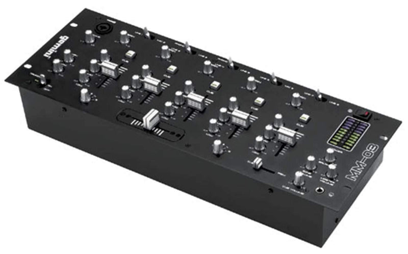 Gemini MM-03 19-Inch 4-Channel DJ Mixer - PSSL ProSound and Stage Lighting