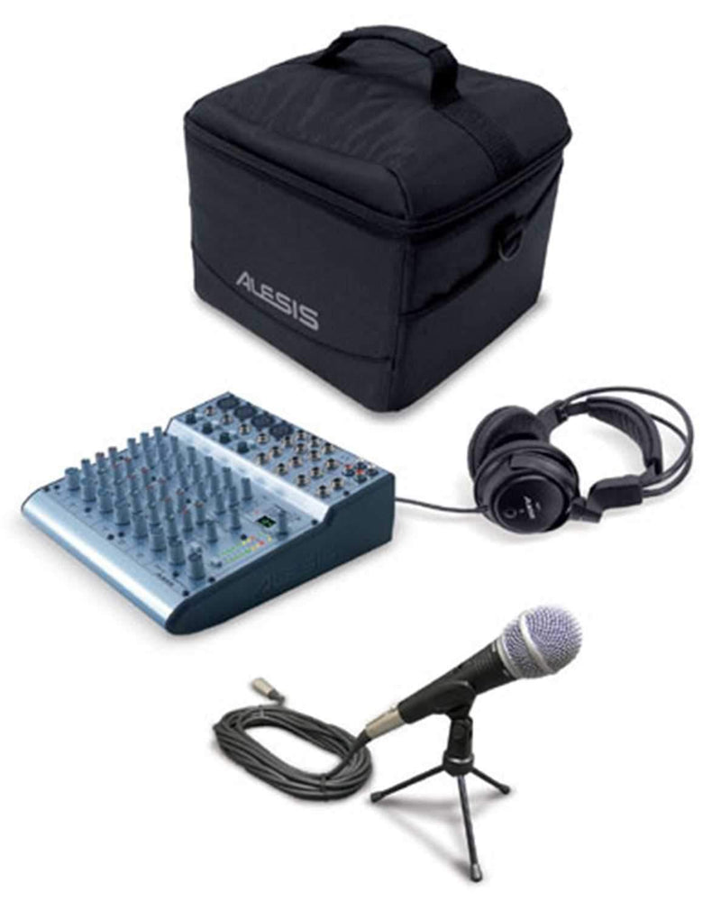 Alesis MM8-Podcast-USB Podcasting Kit (USB) - PSSL ProSound and Stage Lighting