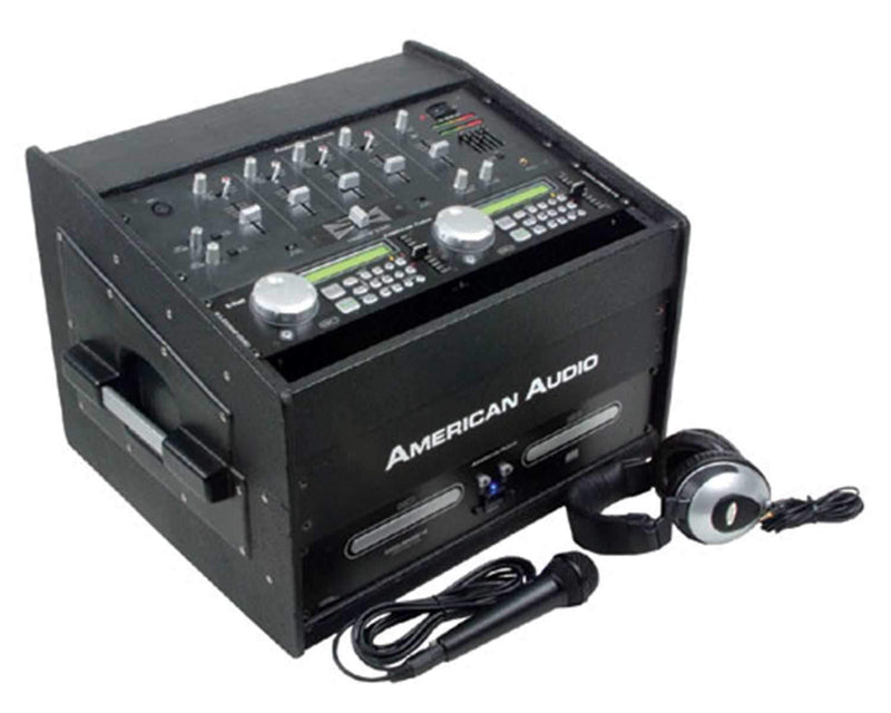 American Audio Mobile-310 Dual CD Package - PSSL ProSound and Stage Lighting