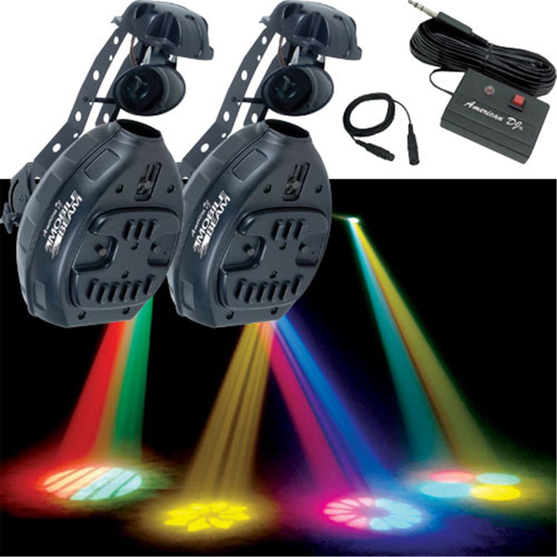 American DJ MOBILE BEAM System 2X Mobile Beam - PSSL ProSound and Stage Lighting