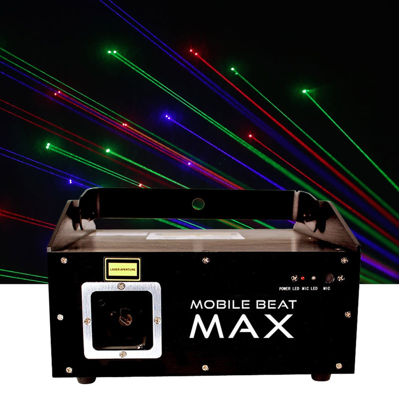 X-Laser Mobile Beat MAX IE Animated Laser Effect - PSSL ProSound and Stage Lighting