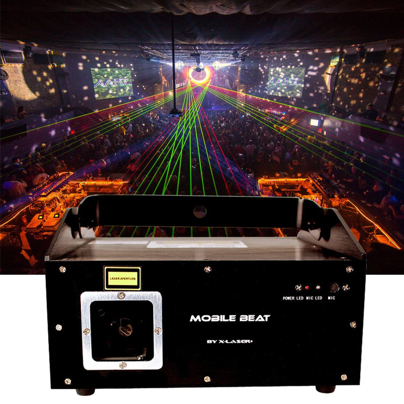 X-Laser Mobile Beat MK5 Animated Laser Effect - PSSL ProSound and Stage Lighting
