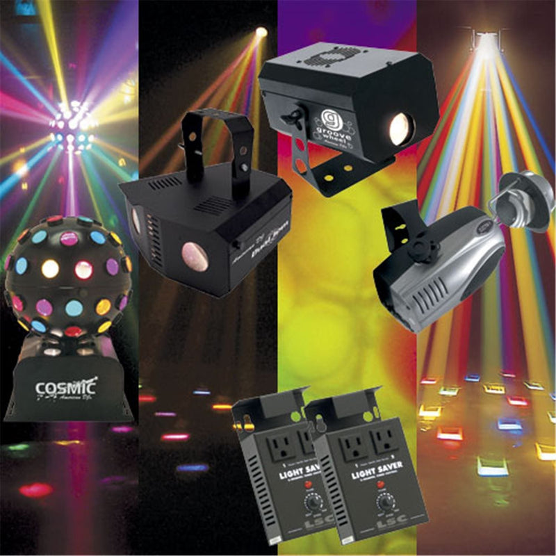 American DJ Mobile Light Effects Package - PSSL ProSound and Stage Lighting