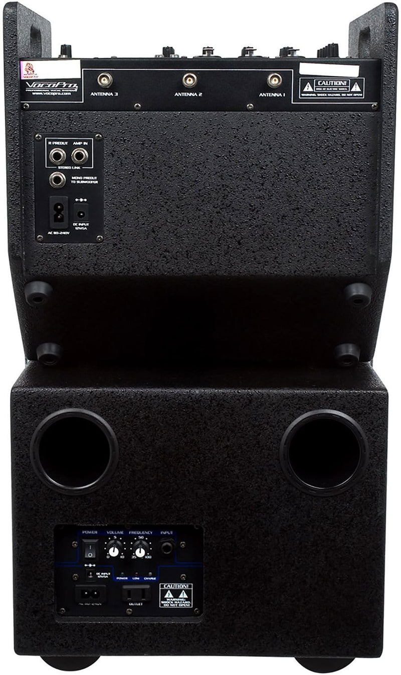 VocoPro Mobileman 2 Battery-Powered PA System - PSSL ProSound and Stage Lighting