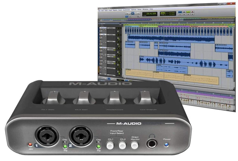 Avid MOBILEPRE-USB 2nd Gen Audio Interface - PSSL ProSound and Stage Lighting